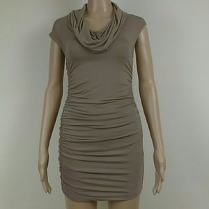 Fantastic Rouched ready for fun mini dress.